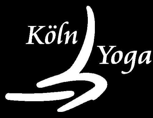 Logo Köln Yoga weiss